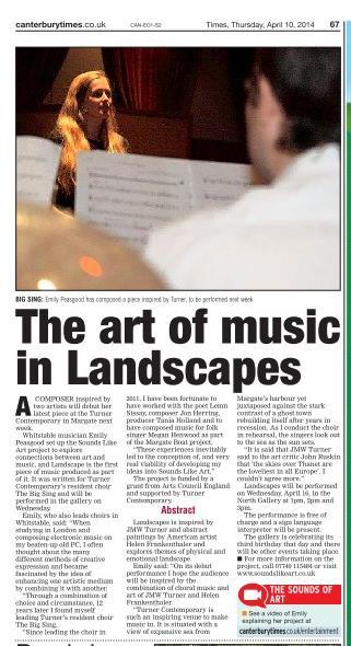 Canterbury Times April 2014