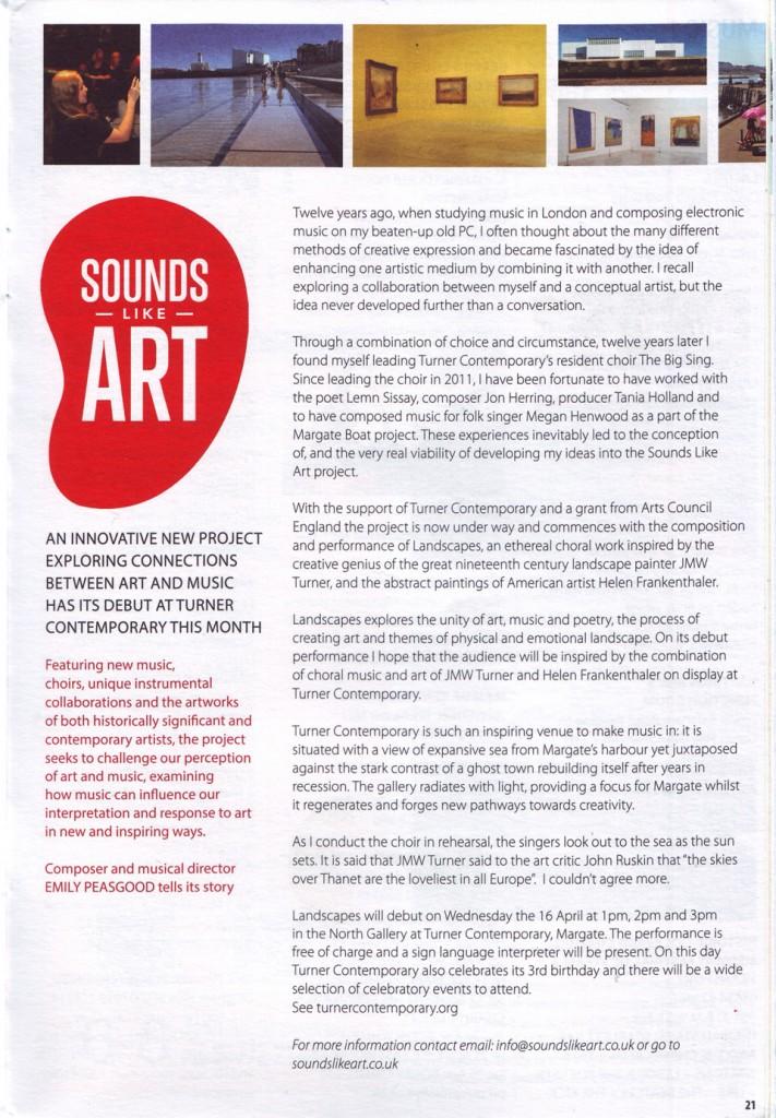 WOW Magazine April 1st 2014