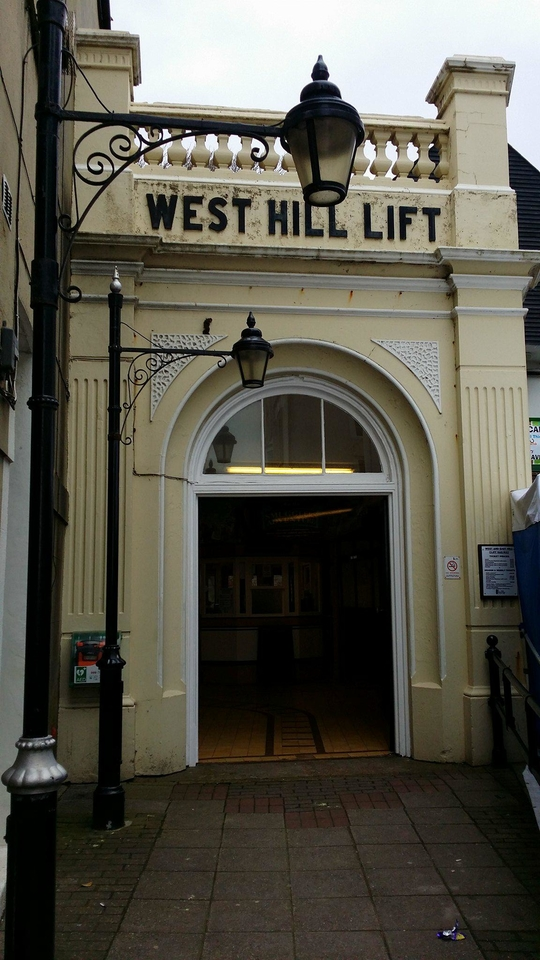 The West Hill lift, Hastings
