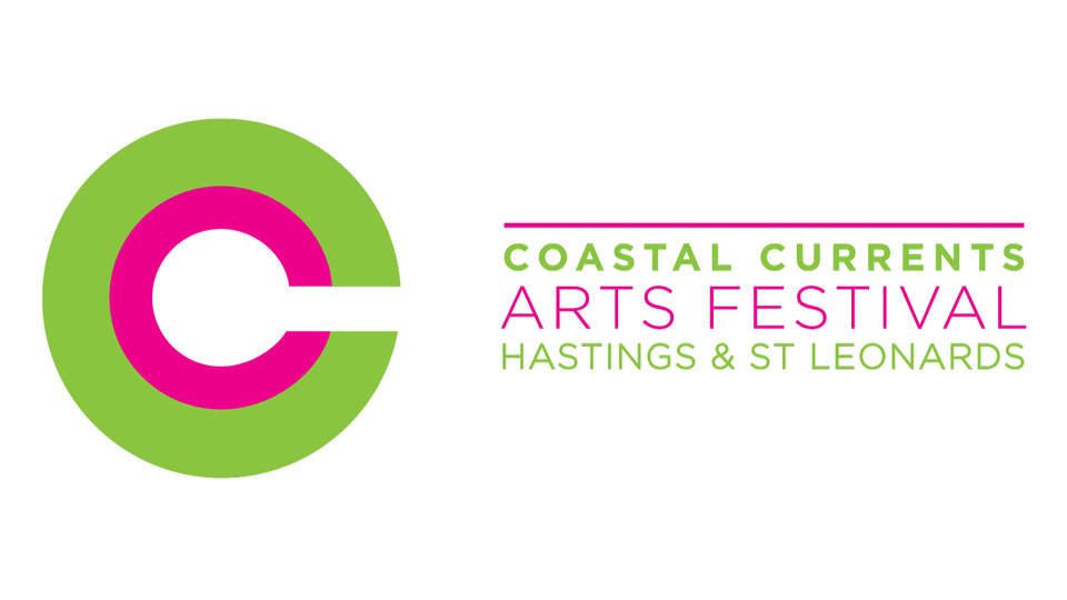 Coastal Currents Arts Festival banner logo