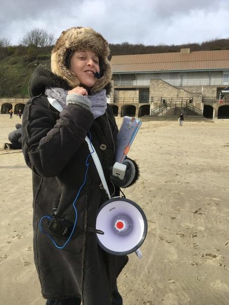 Nina Clark: Site test, February 2020.