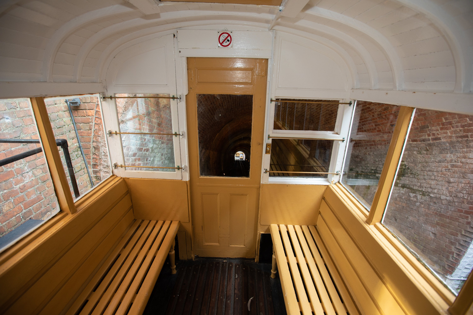 View of the West Hill lift carriage